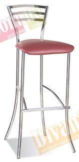 Барный стул Molino hocker chrome