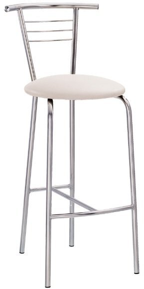 Барный стул Tina hocker chrome