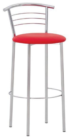 Барный стул Marco hoker chrome
