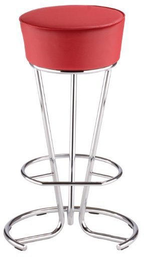 Барный стул Pinacolada hocker chrome