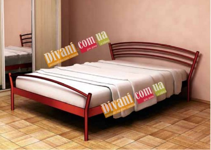 Полуторная кровать Marco 2 - 140 см с высокой спинкой у ног