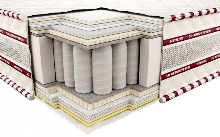 Ортопедический матрас Неолюкс 3D Магнат зима-лето - 120см