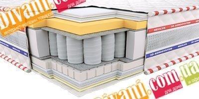 Ортопедический матрас Неолюкс 3D Империал мемори - 90см