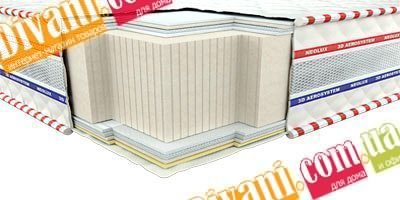 Безпружинный матрас Неолюкс 3D Галант зима-лето - 120см