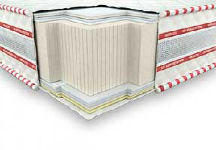 Безпружинный матрас 3D Галант зима-лето - 140x200 см