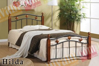 Односпальная кровать  Hilda S (Хильда С) 190x90см