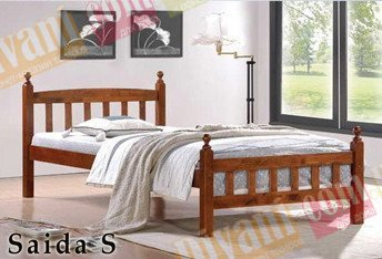 Односпальная кровать  Saida S (Саида С) 190x90см