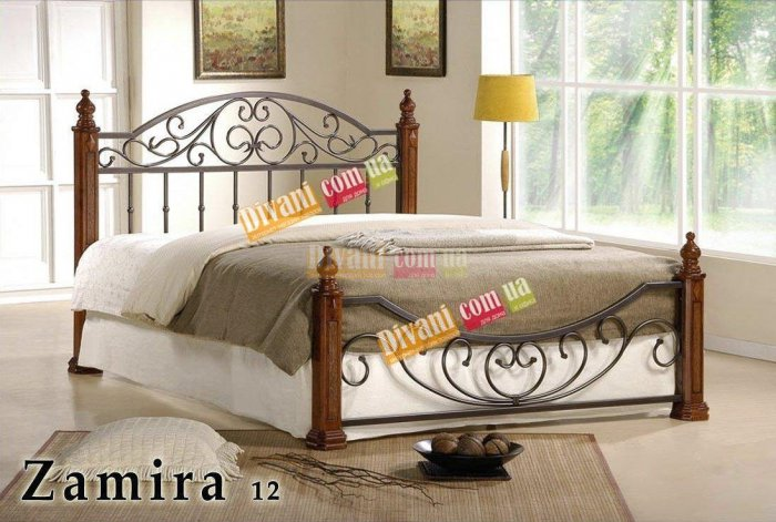 Односпальная кровать  Zamira-12 (Замира-12) 200x90см