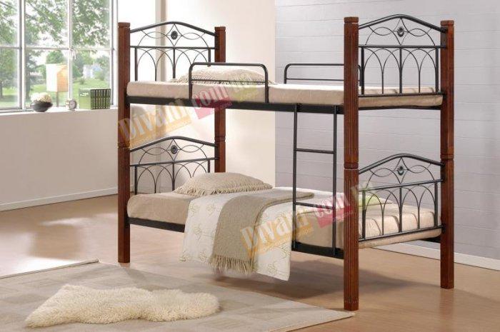 Кровать двухярусная Миранда - 200x90см