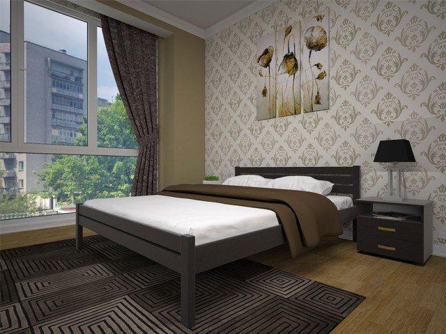 Односпальная кровать Классика - 90см