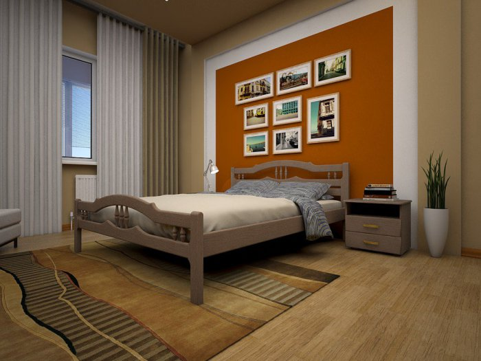 Полуторная кровать Юлия - 140см