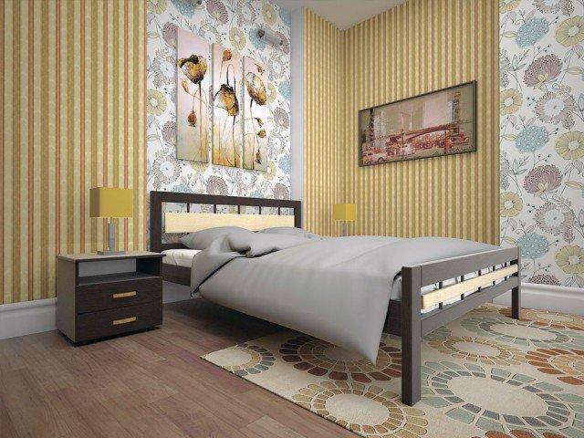 Полуторная кровать Модерн 3 - 120см