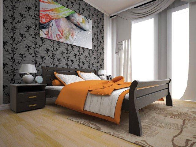 Односпальная кровать Ретро - 90см