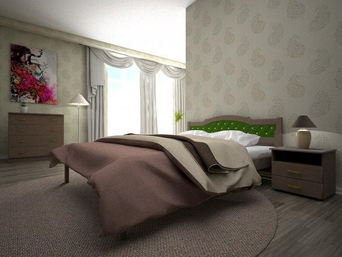 Двуспальная кровать Юлия-2 - 160см