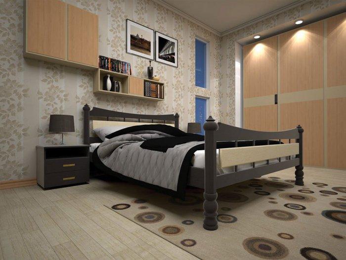 Полуторная кровать Модерн 4 - 120см