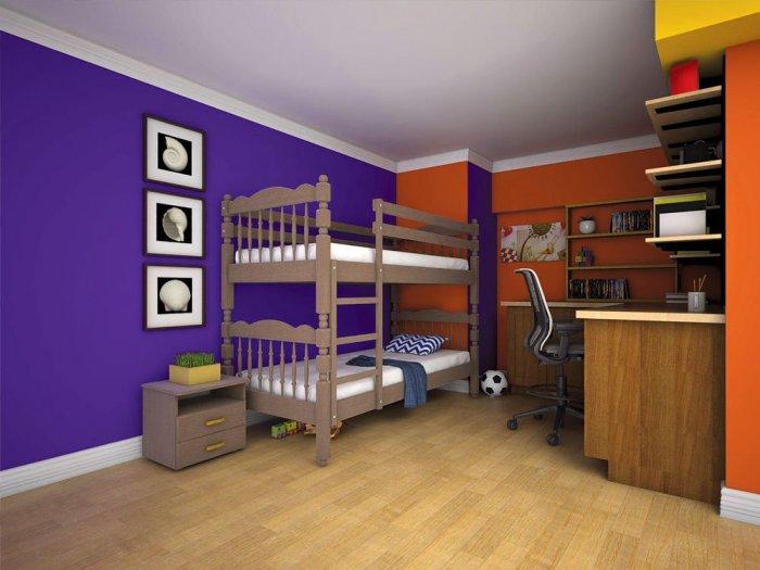 Двухъярусная кровать Трансформер 2 - 80-90x190-200см