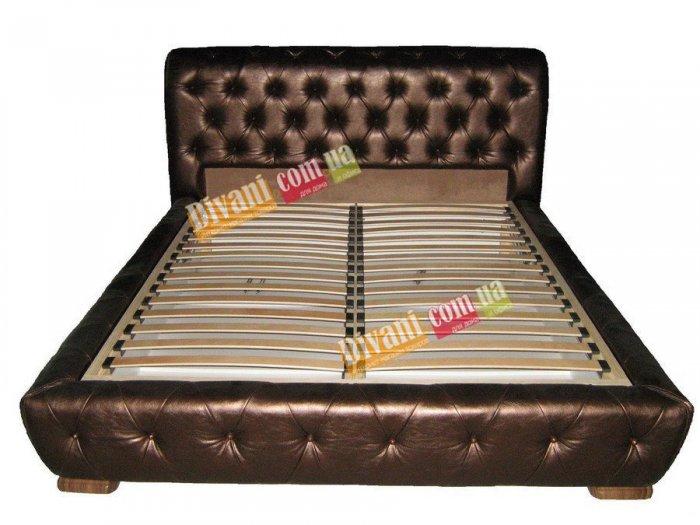 Двуспальная кровать Аллегро-2 на ламелях - 200х180см