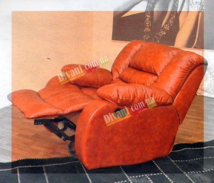 Кожаное кресло Чикаго (Электрический реклайнер)