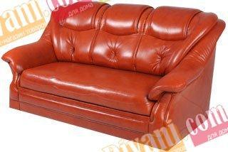 Кожаный диван Версаль 1,6