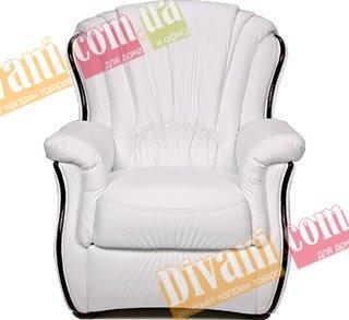 Кожаное кресло Аркадия
