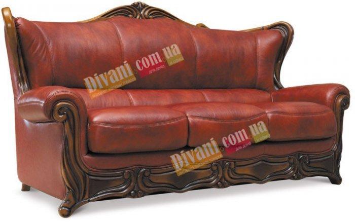 Кожаный диван Галилей