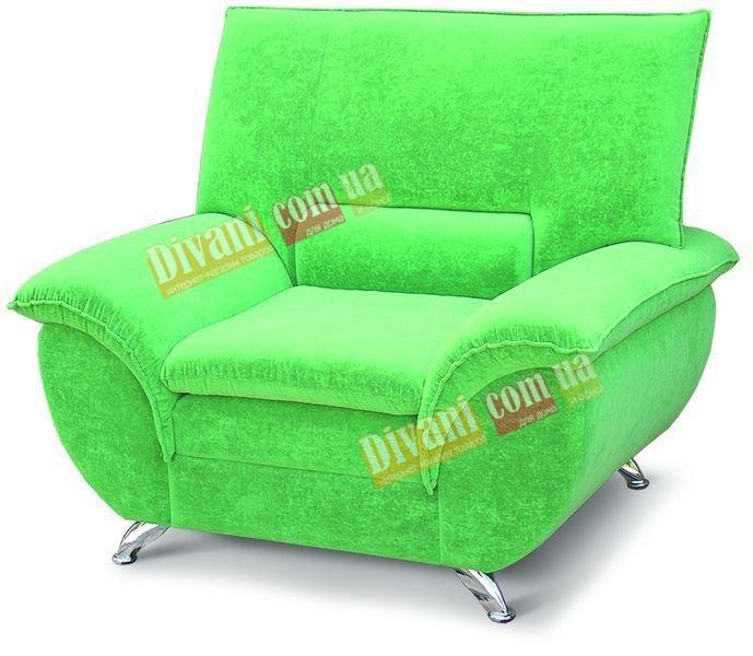 Кожаное кресло Эллипс