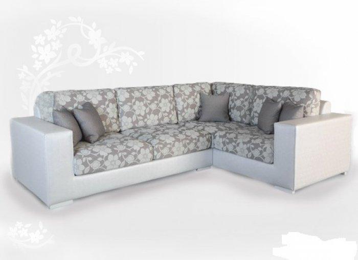 Кожаный угловой диван Plaza 90