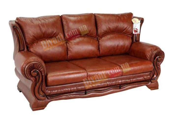 Кожаный диван Версаль - 3
