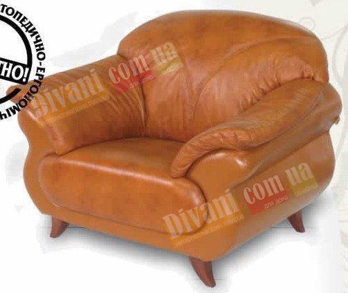 Кожаное кресло Орхидея