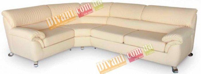 Кожаный угловой диван Карат - 305x305 см