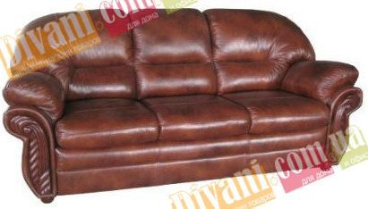 Кожаный диван Кардинал - 3