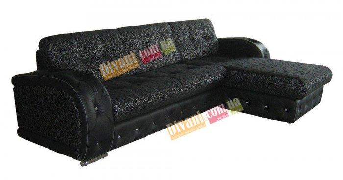 Кожаный угловой диван Августин