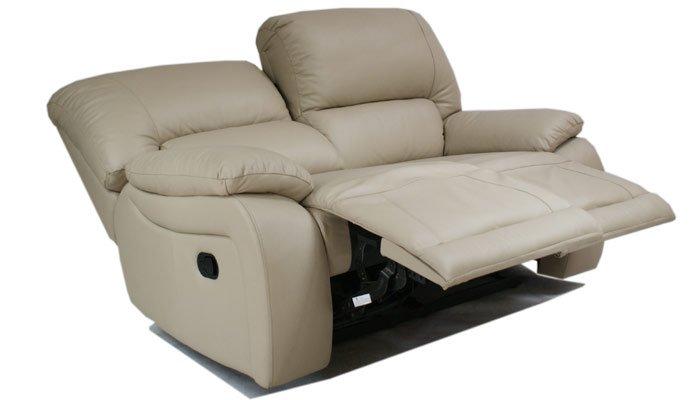 Кожаный диван Alaska 100-29e двойка с двумя электрическими реклайнерами