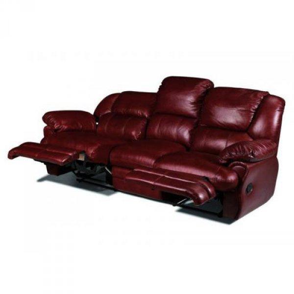 Кожаный диван Indiana 400-39 с двумя реклайнерами