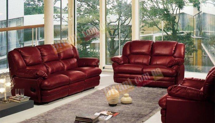 Кожаный угловой диван Indiana 400-37-04-26е