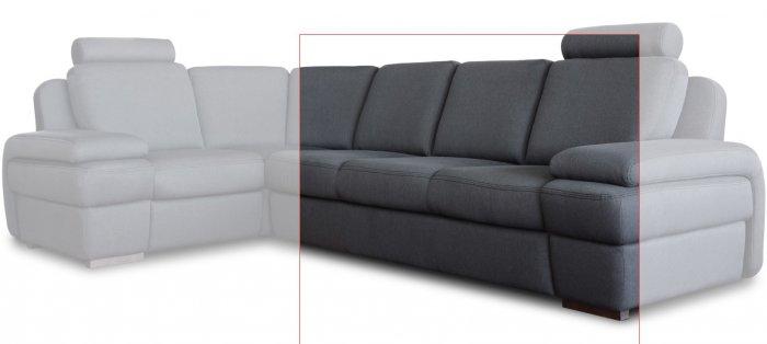 Модуль дивана Апполо Тройка без подлокотников