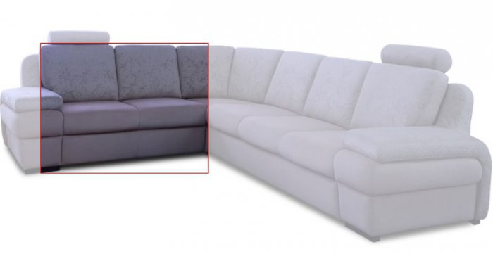 Модуль дивана Апполо Двойка без подлокотника