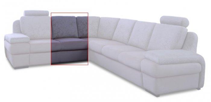 Модуль дивана Апполо Одинарный без подлокотника