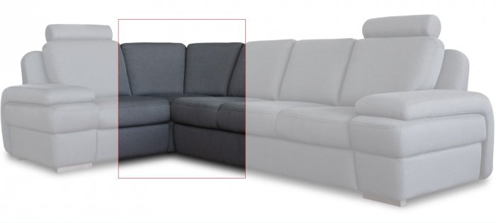 Модуль дивана Апполо угол