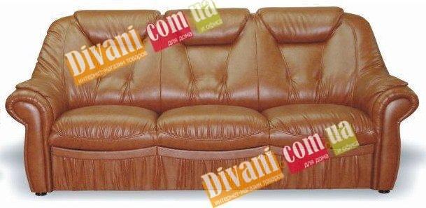 Кожаный диван Панда 2