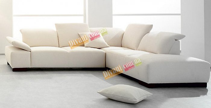 Кожаный угловой диван Морис