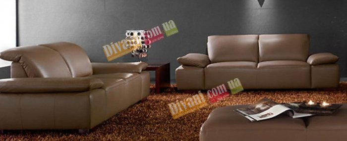 Кожаный диван Морис