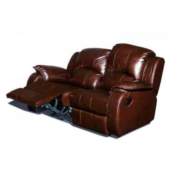 Кожаный диван Minnesota 500-29 с двумя реклайнерами