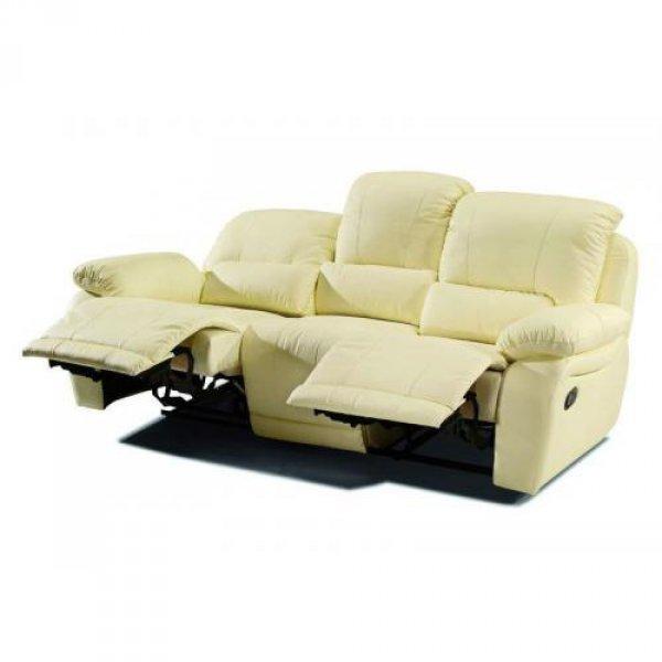 Кожаный диван California 700-39e с двумя электрическими реклайнерами
