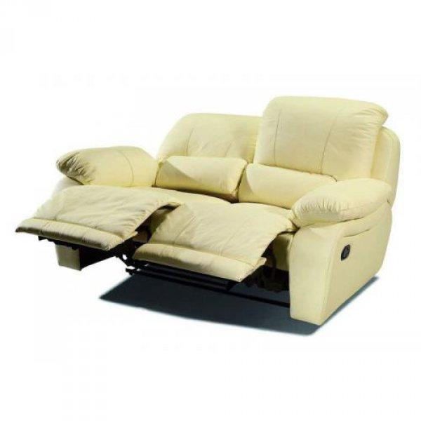 Кожаный диван California 700-29 с двумя реклайнерами