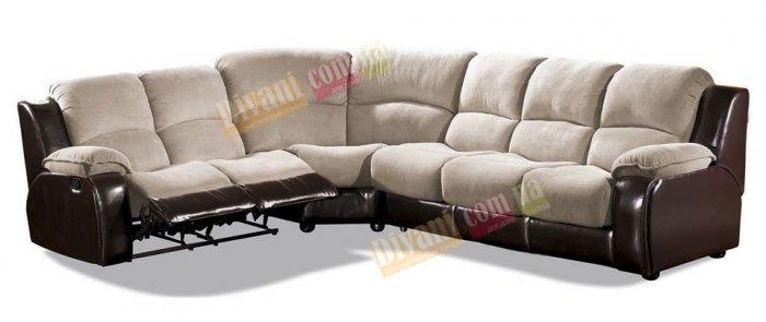 Кожаный угловой диван Louisiana 800-37-04-26е
