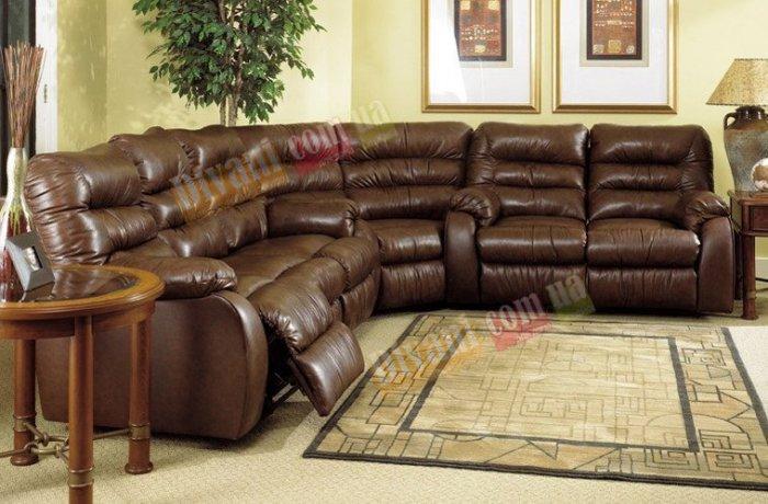 Кожаный угловой диван Dakota 250-37-04-26е