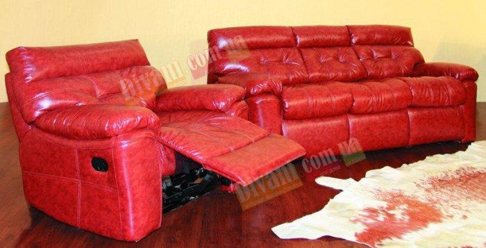 Кожаный диван Неаполь