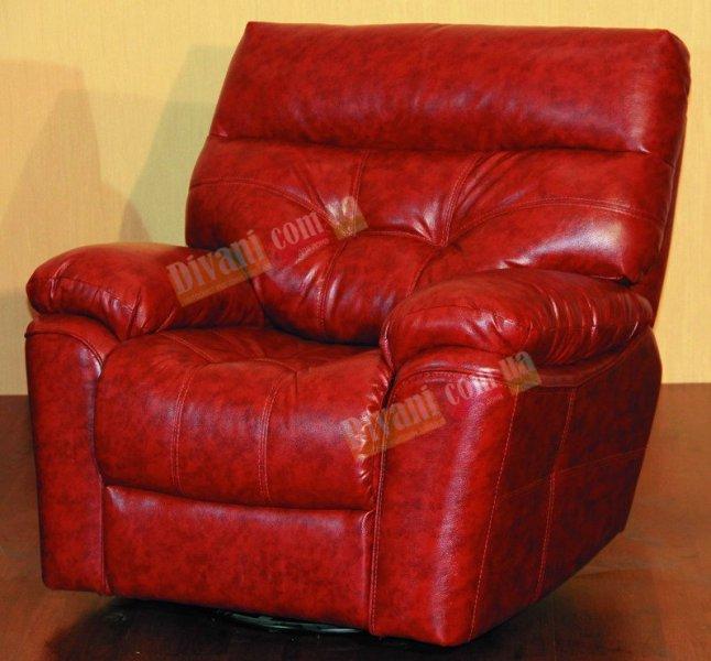 Кожаное кресло Неаполь (Механический реклайнер)