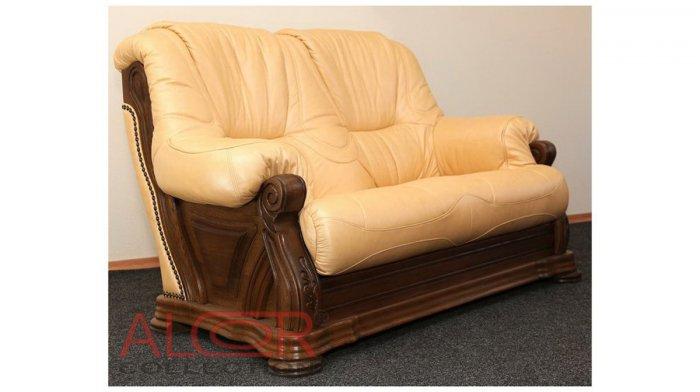 Кожаный диван Кардинал 2н